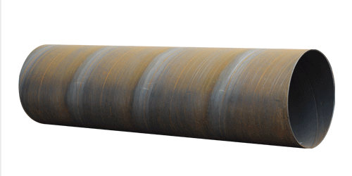 Surface treatment method of spiral steel pipe