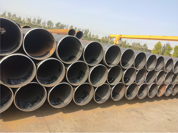 What are the acceptance criteria for steel pipes?